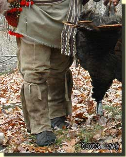 The original leggin ties, shown at the end of a previous hunt.