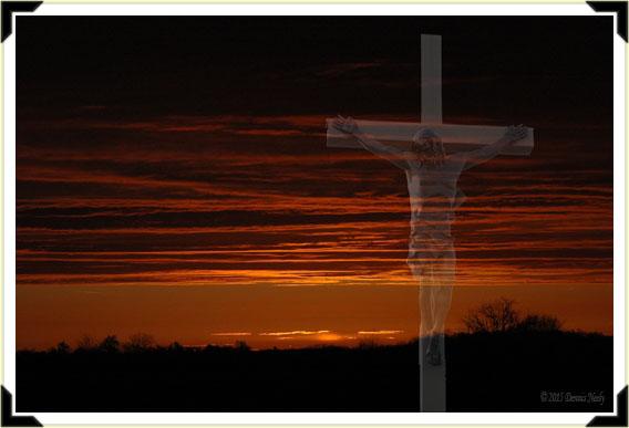 The sun rises...