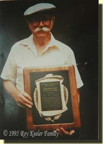 Roy Keeler inducted into NMLRA Black Powder Hall of Fame