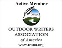 Active member of Outdoor Writers Association of America
