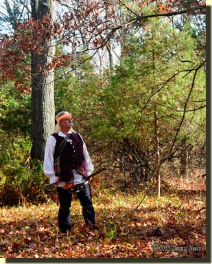 The traditional woodsman returns to the still-hunt.